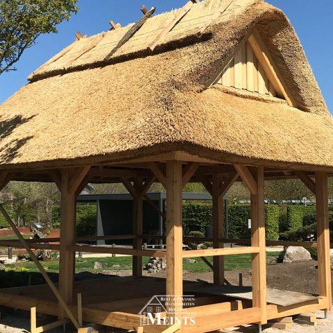 Sonderbauten Park der Gaerten Gristede Naturreet Reetbedachung Ammerland Dachdecker Bad Zwischenahn 06