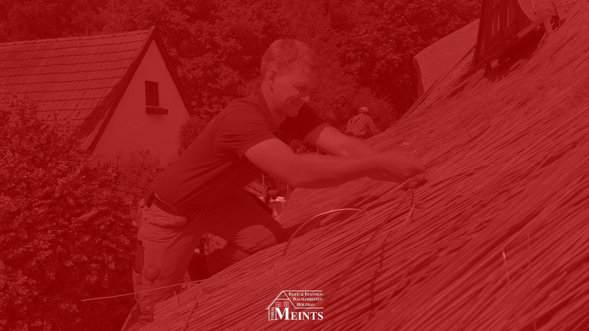 Naturreet Reetbedachung Ammerland Dachdecker Bad Zwischenahn 10 rot