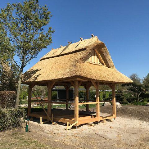 Sonderbauten Park der Gaerten Gristede Naturreet Reetbedachung Ammerland Dachdecker Bad Zwischenahn 07