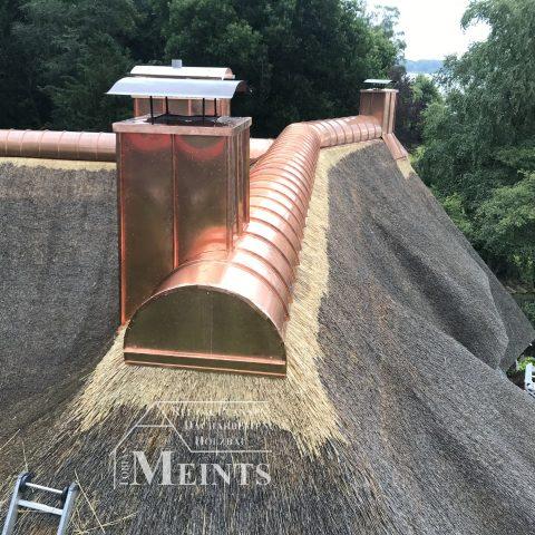 Kupferfirst Reetbedachung Ammerland Dachdecker Bad Zwischenahn 04