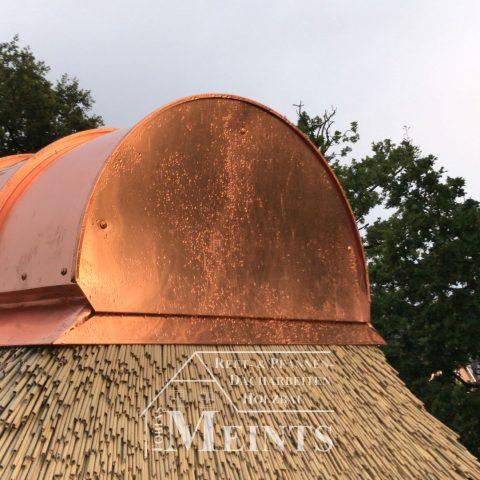 Kupferfirst Reetbedachung Ammerland Dachdecker Bad Zwischenahn 01