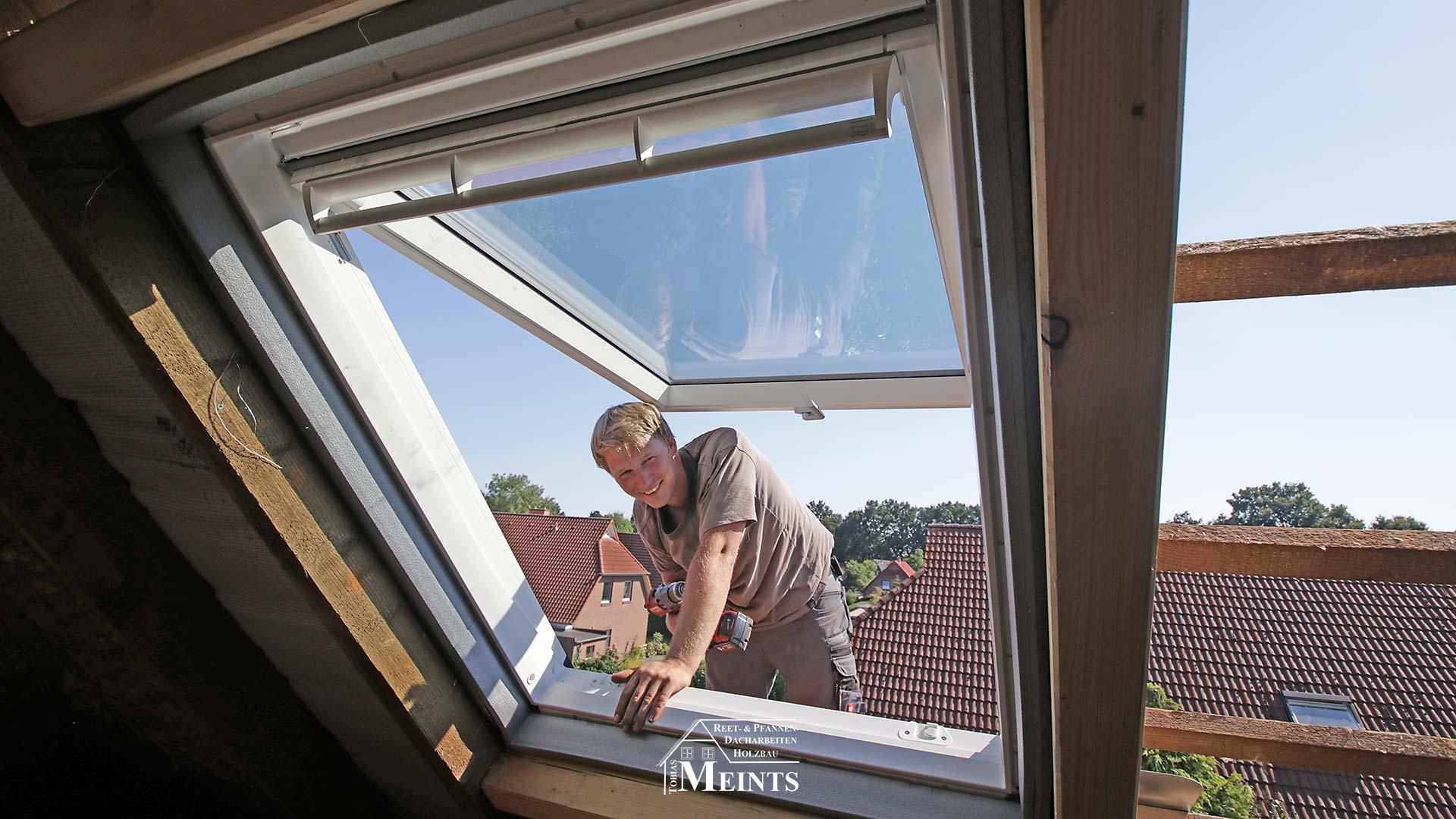VELUX Dachfenster einbauen Dachdecker Oldenburg 01
