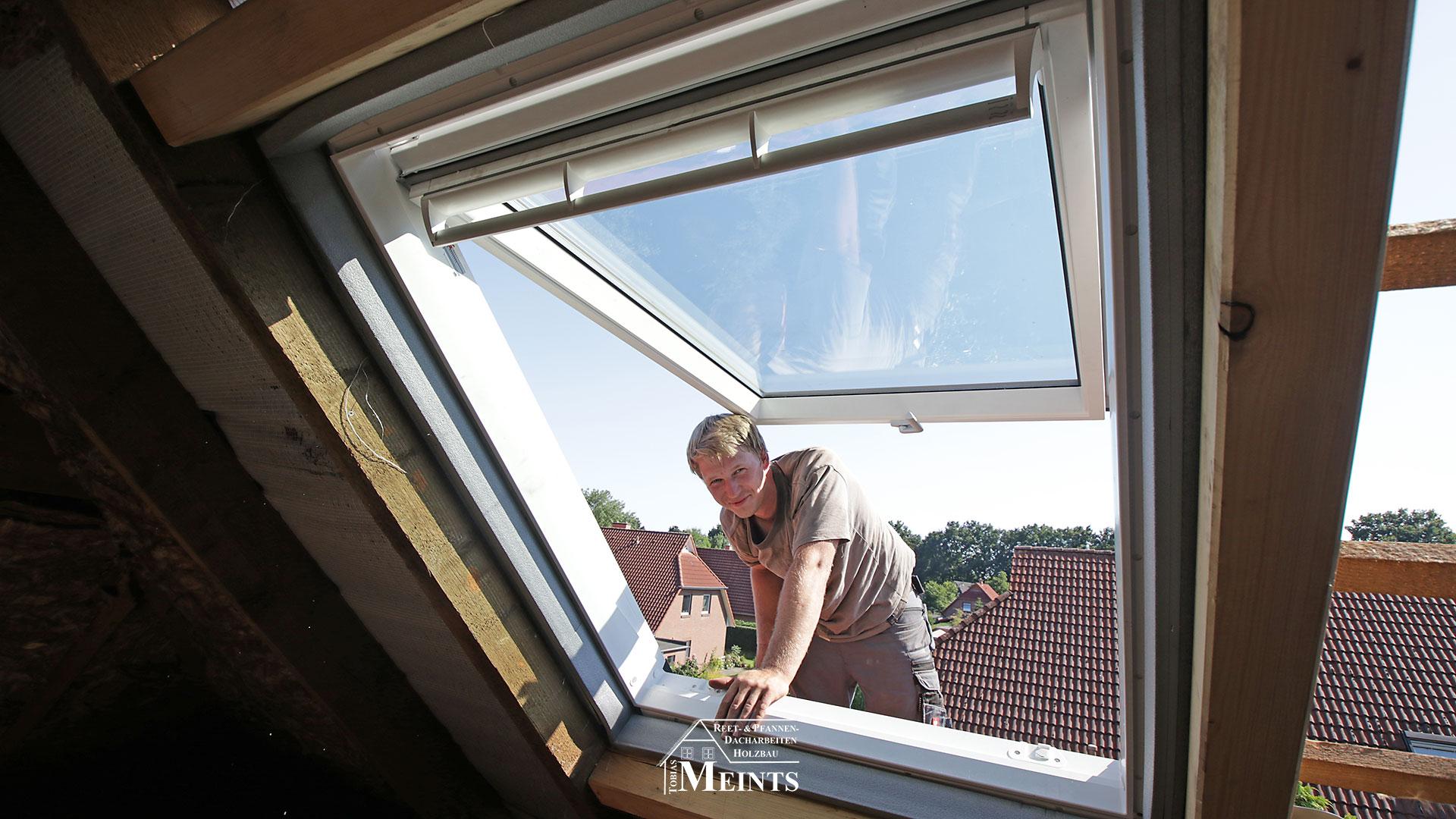 VELUX Dachfenster einbauen Dachdecker Oldenburg 02