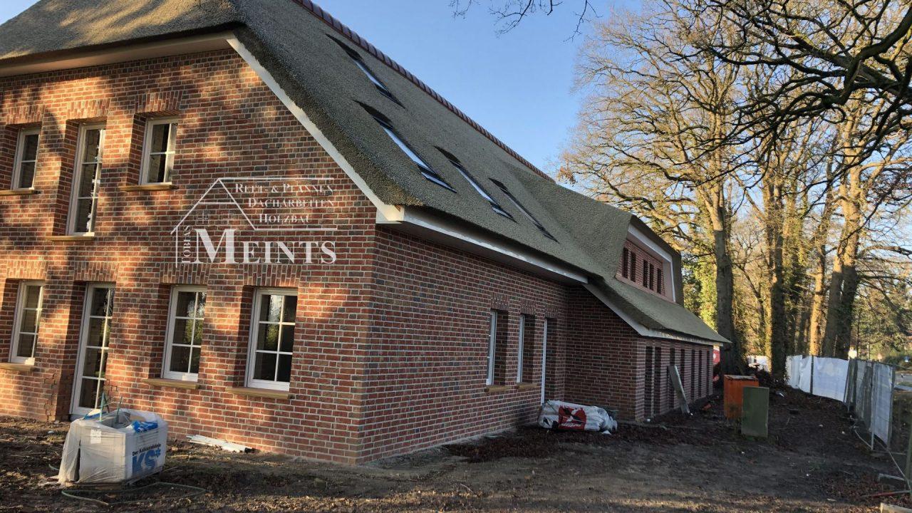 Kunstreet Bauernhaus Kupfer Reetdach Bad Zwischenahn 1