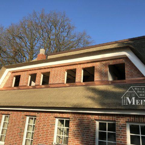 Kunstreet Bauernhaus Kupfer Reetdach Bad Zwischenahn 2